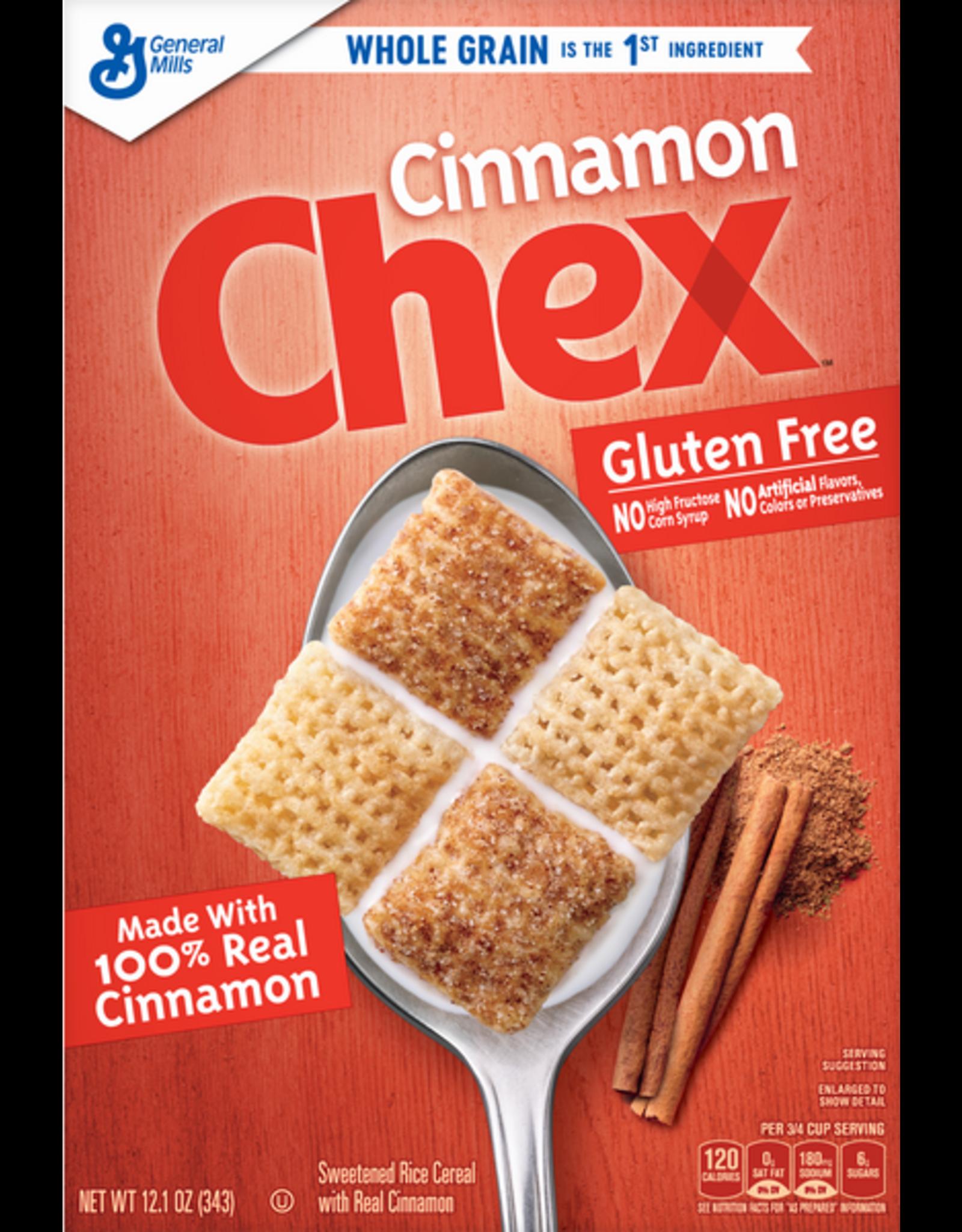 Chex Cinnamon - Gluten Free - 340g