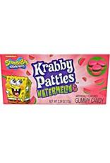 SpongeBob Squarepants Krabby Patties Watermelon Gummy Candy - 72g