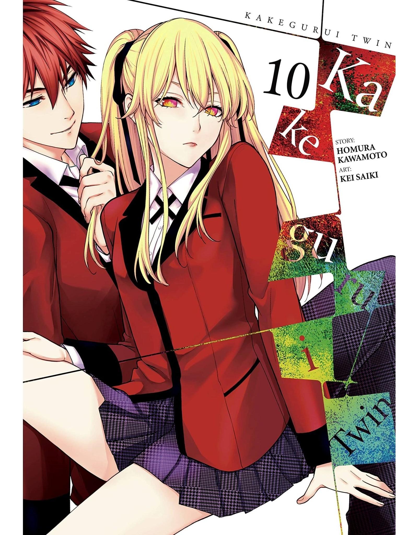 Kakegurui Twin 10 (Engelstalig) - Manga