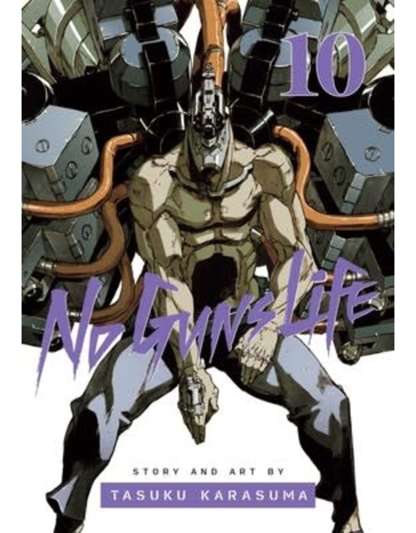 No Guns Life 10 (Engelstalig) - Manga
