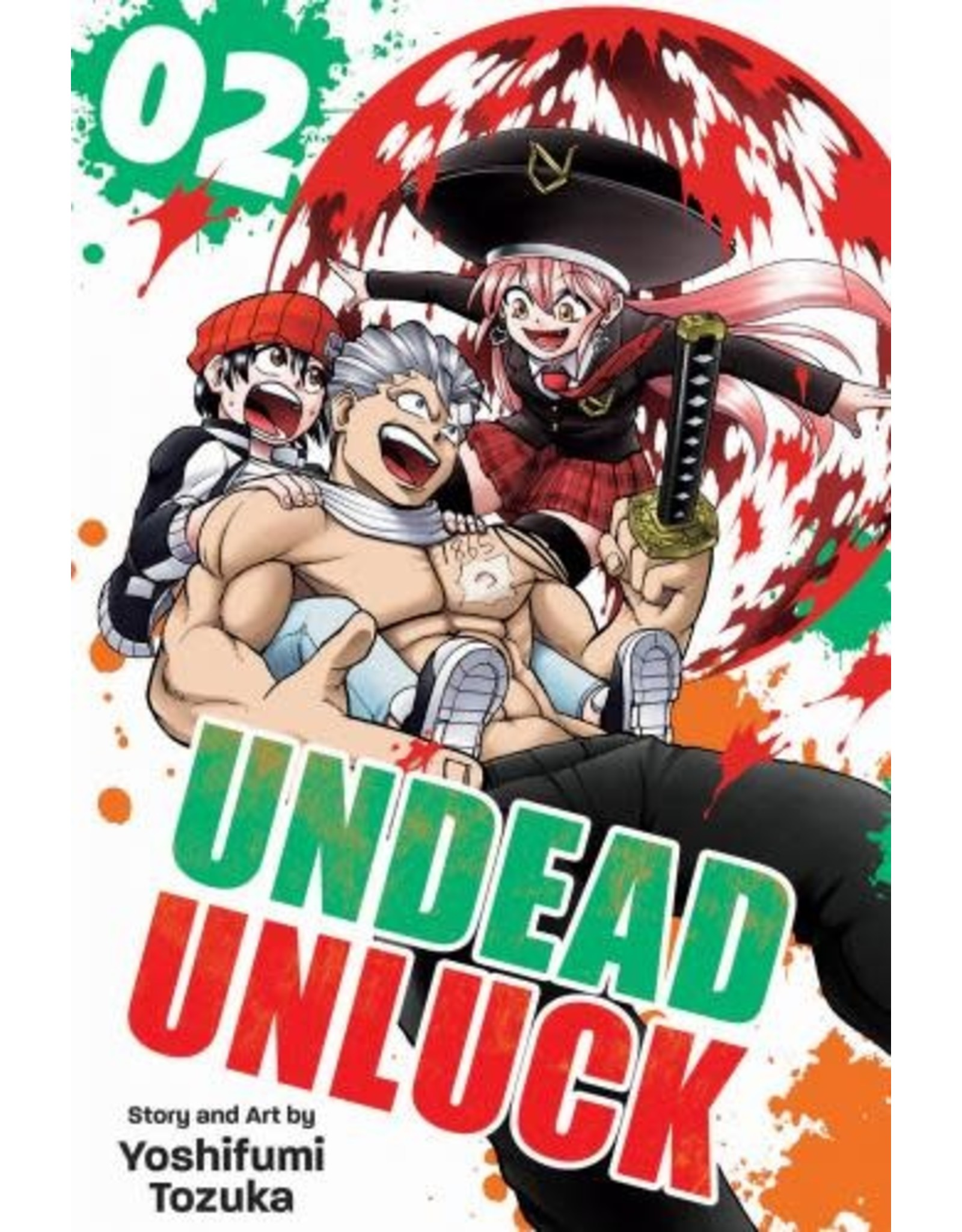 Undead Unluck 2 (Engelstalig) - Manga