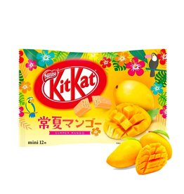 KitKat Mini Premier Summer Mango