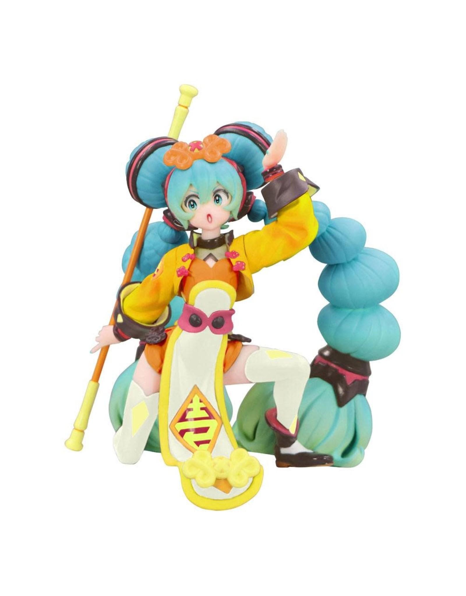 Hatsune Miku - China Dress Color Variation Vocaloid Noodle Stopper - PVC Statue - 20 cm