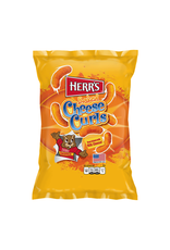 Herr's Baked Cheese Curls - Oven Baked with REAL Cheese! - 198g