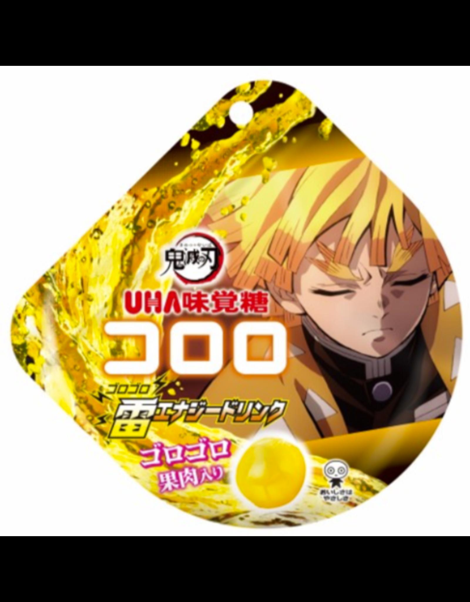Kororo Gummy x Demon Slayer: Kimetsu no Yaiba - Zenitsu Style Energy Drink Flavor