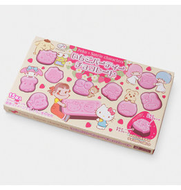 Peko x Sanrio Strawberry Party Chocolate - 40g