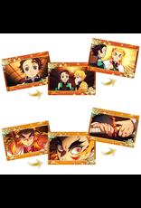 Demon Slayer: Kimetsu no Yaiba the Movie: Mugen Train - Famous Scene Retrospective Card Chocolate Snack 3 - 1 random card + 1 snack