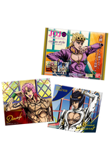 Jojo's Bizarre Adventure: Golden Wind Canvas Style - 1 Chewing gum + 1 Canvas Style Art Board (18 cm x 13 cm)