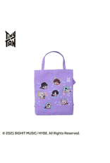 TinyTAN Dreaming Boys - Official Tote Bag - Purple