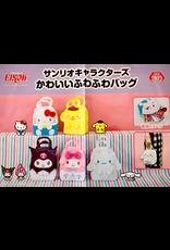 Sanrio Characters Kawaii FuwaFuwa Soft Bag - Kuromi
