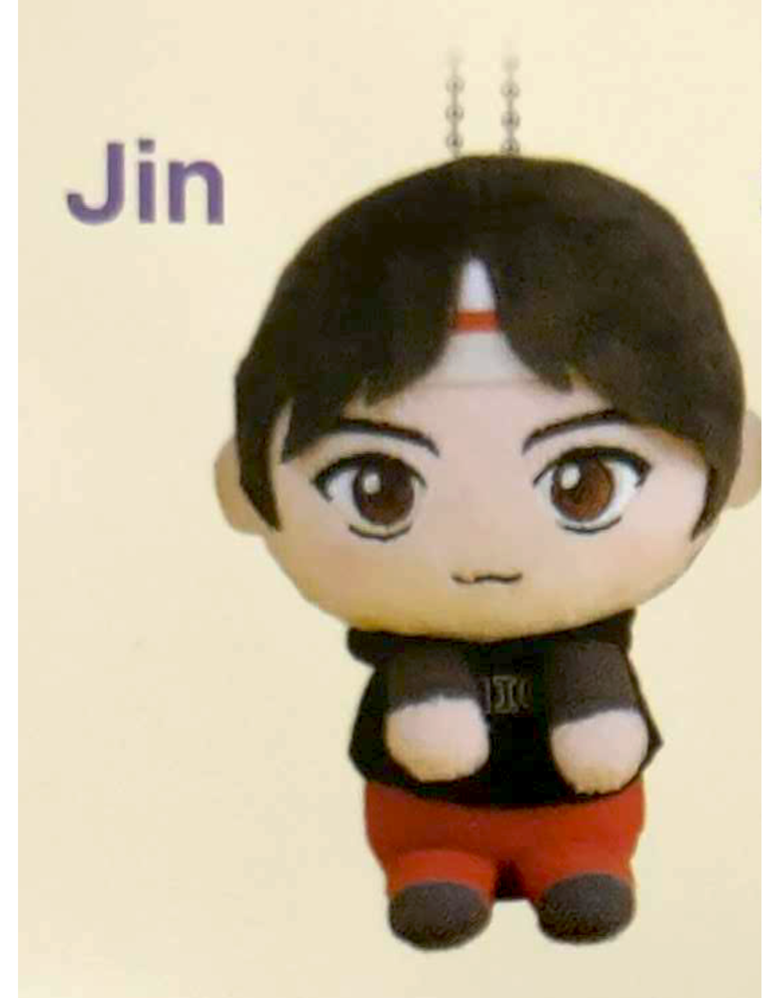 TinyTan & You - Extraction Mascot BTS Keychain Plushie - 12 cm - Jin