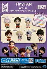 TinyTan & You - Extraction Mascot BTS Keychain Plushie - 12 cm - Suga