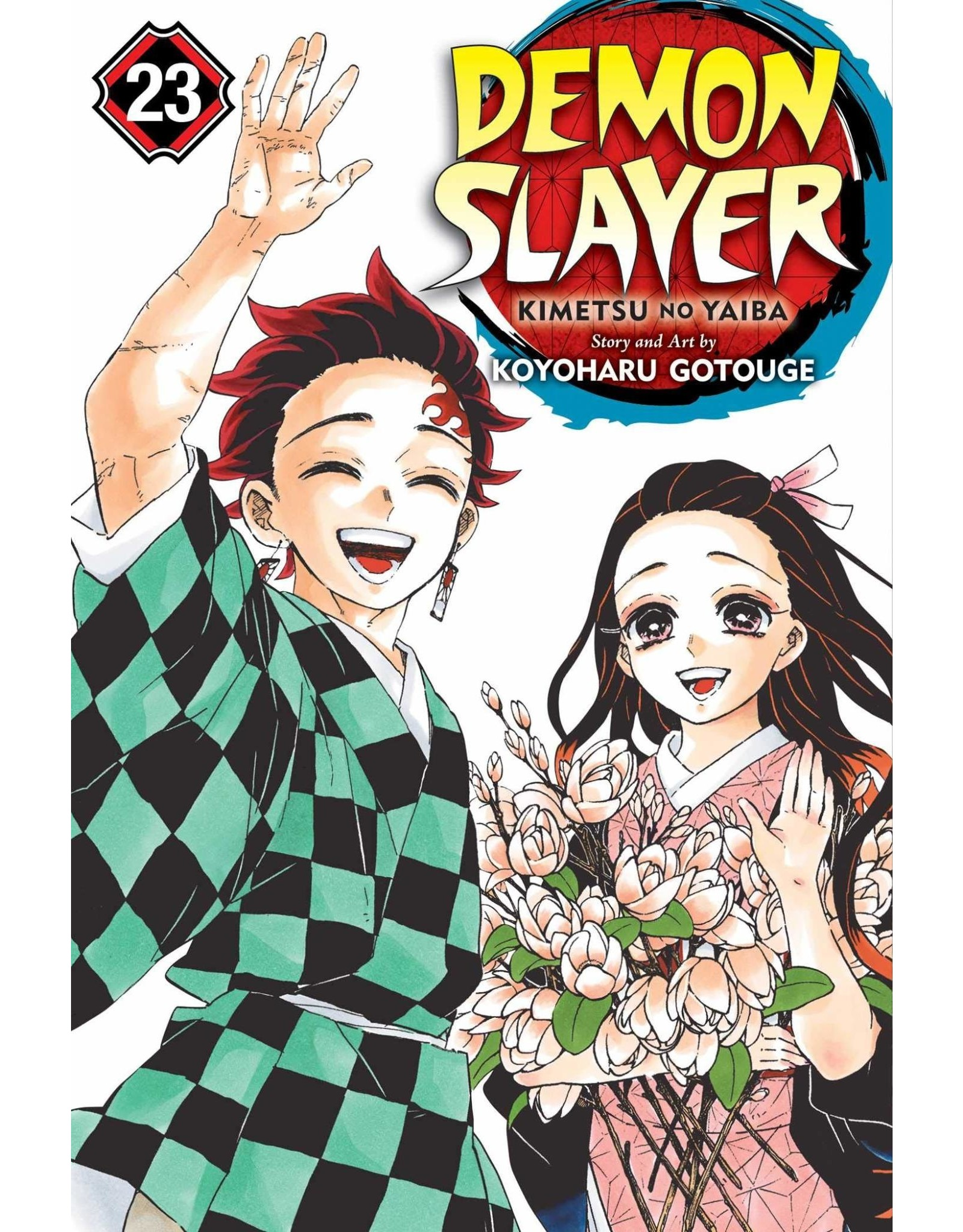 Demon Slayer 23 (Engelstalig) - Manga