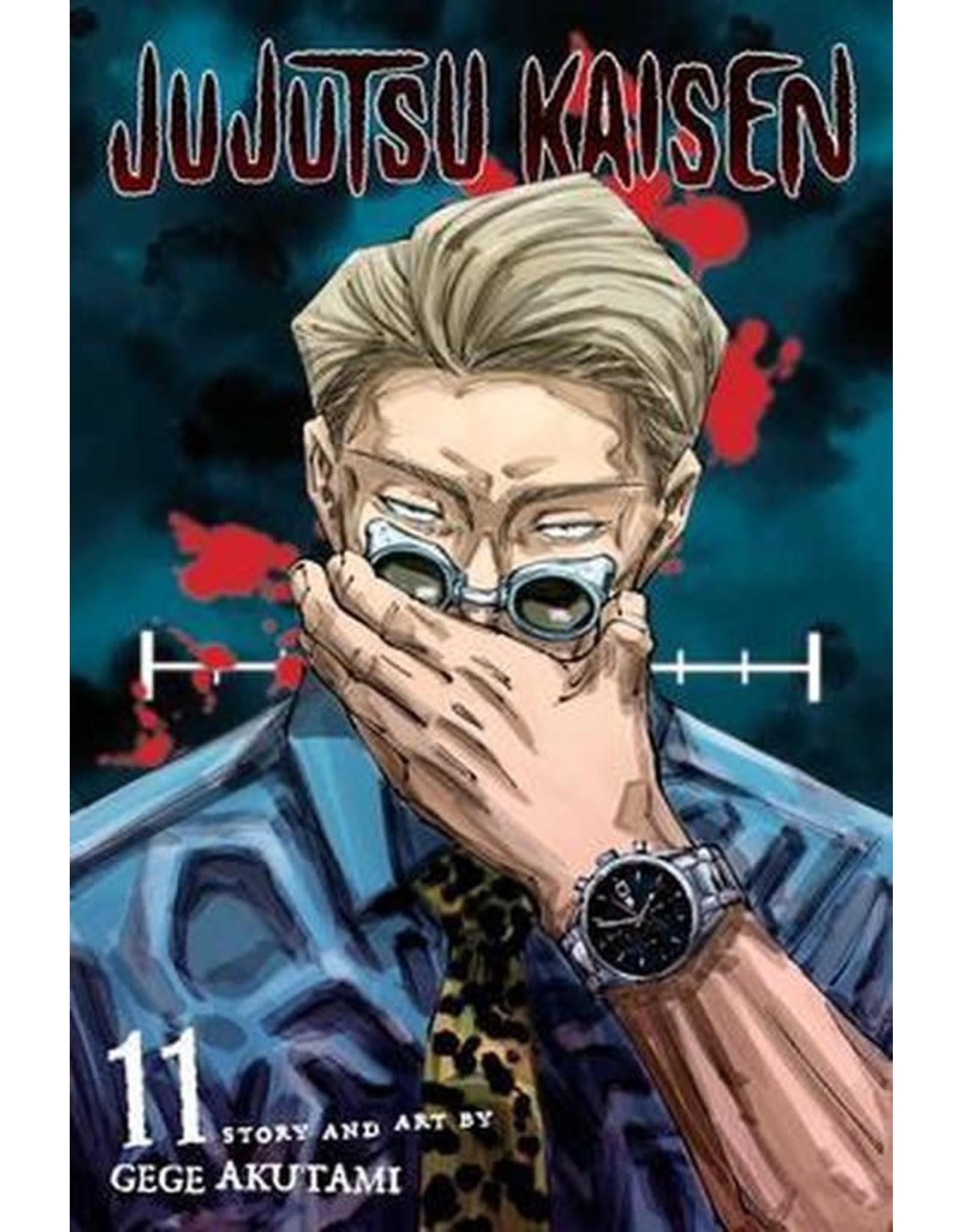 Jujutsu Kaisen 11 (Engelstalig) - Manga