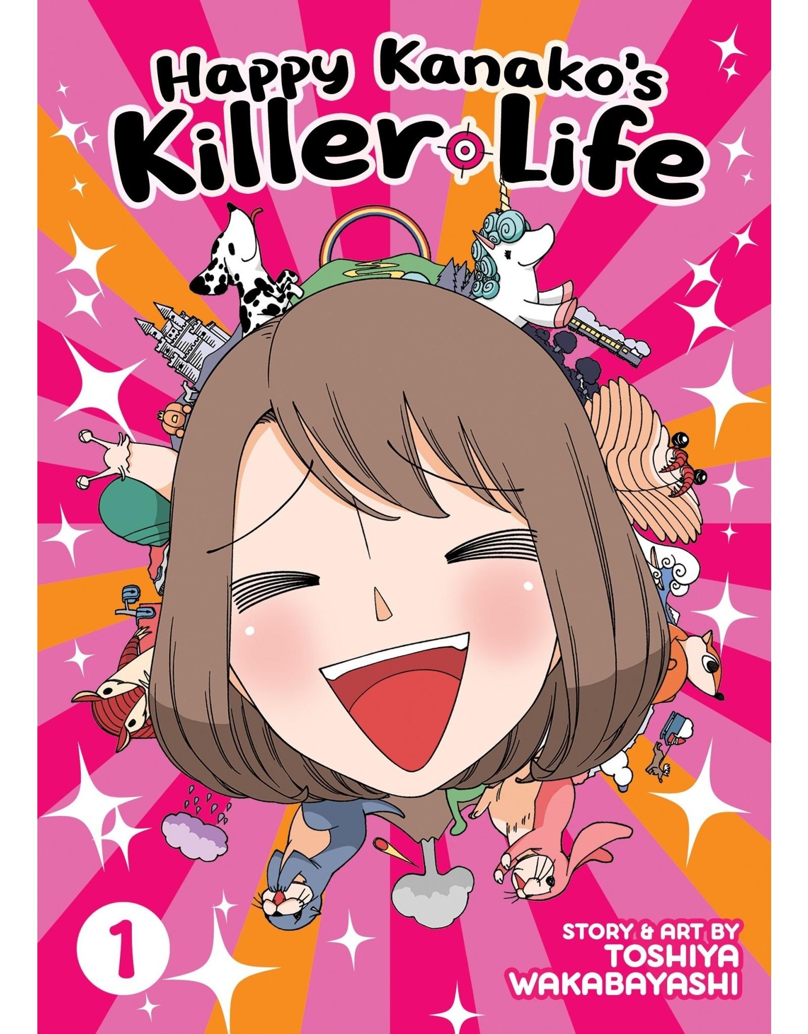 Happy Kanako's Killer Life 1 (Engelstalig) - Manga