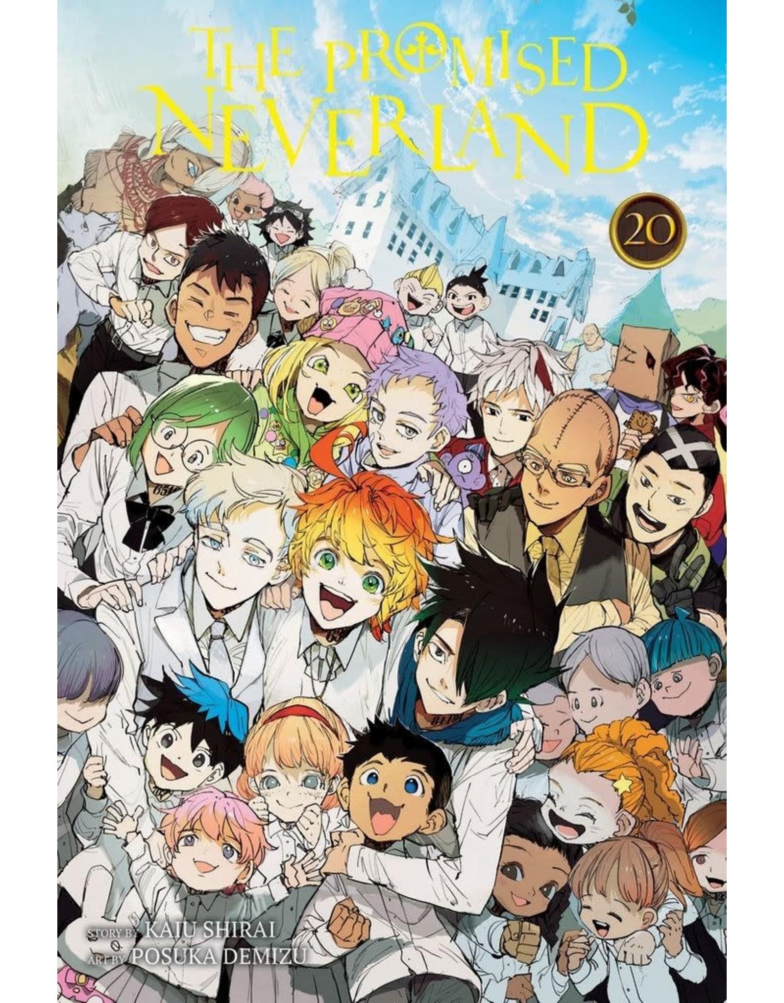 The Promised Neverland 20 (Engelstalig) - Manga