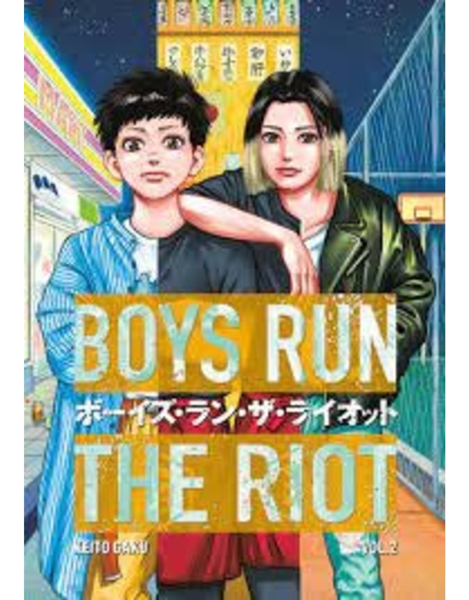 Boys Run The Riot 2 (Engelstalig) - Manga