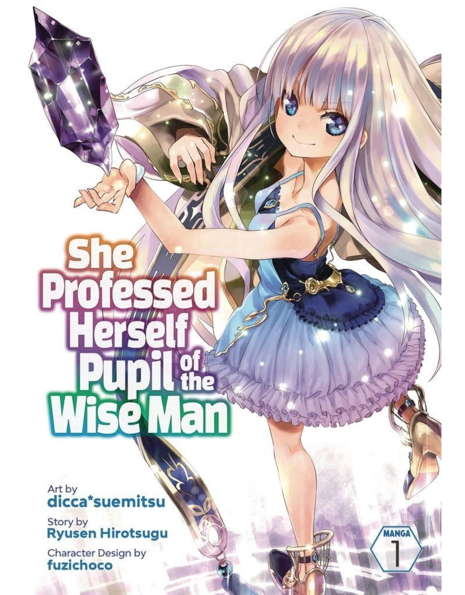 She Professed Herself Pupil Of The Wise Man (Engelstalig) - Manga
