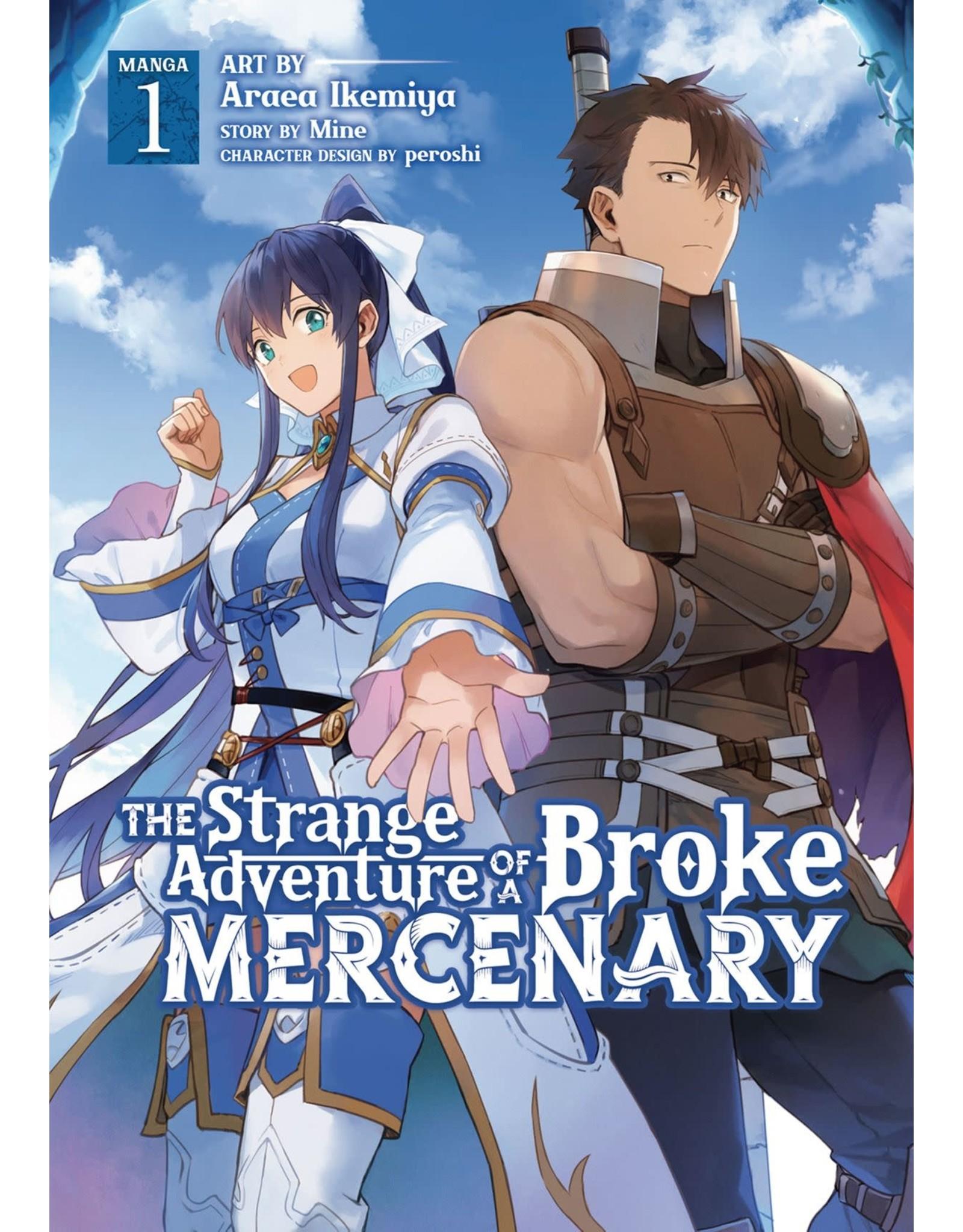 The Strange Adventure Of A Broke Mercenary 1 (Engelstalig) - Manga