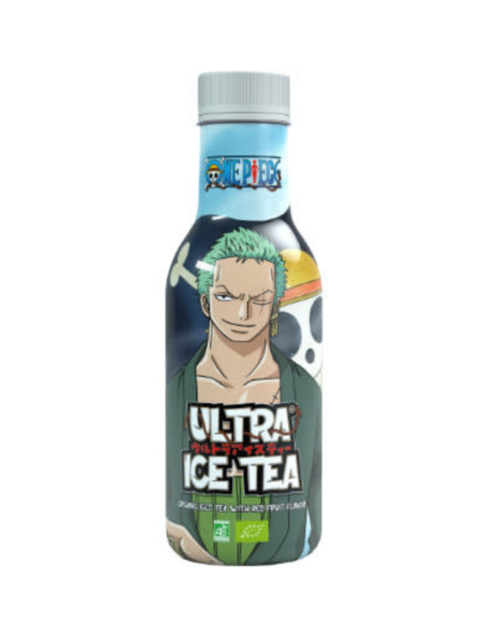 One Piece - Ultra Ice Tea with red fruit flavor - Zoro - 50 cl
