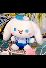 Sanrio Yurukawa Characters Series Mermaid Dress Mascot - Cinnamoroll - 10 cm