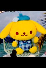 Sanrio Yurukawa Characters Series Mermaid Dress Mascot - Pompompurin - 10 cm