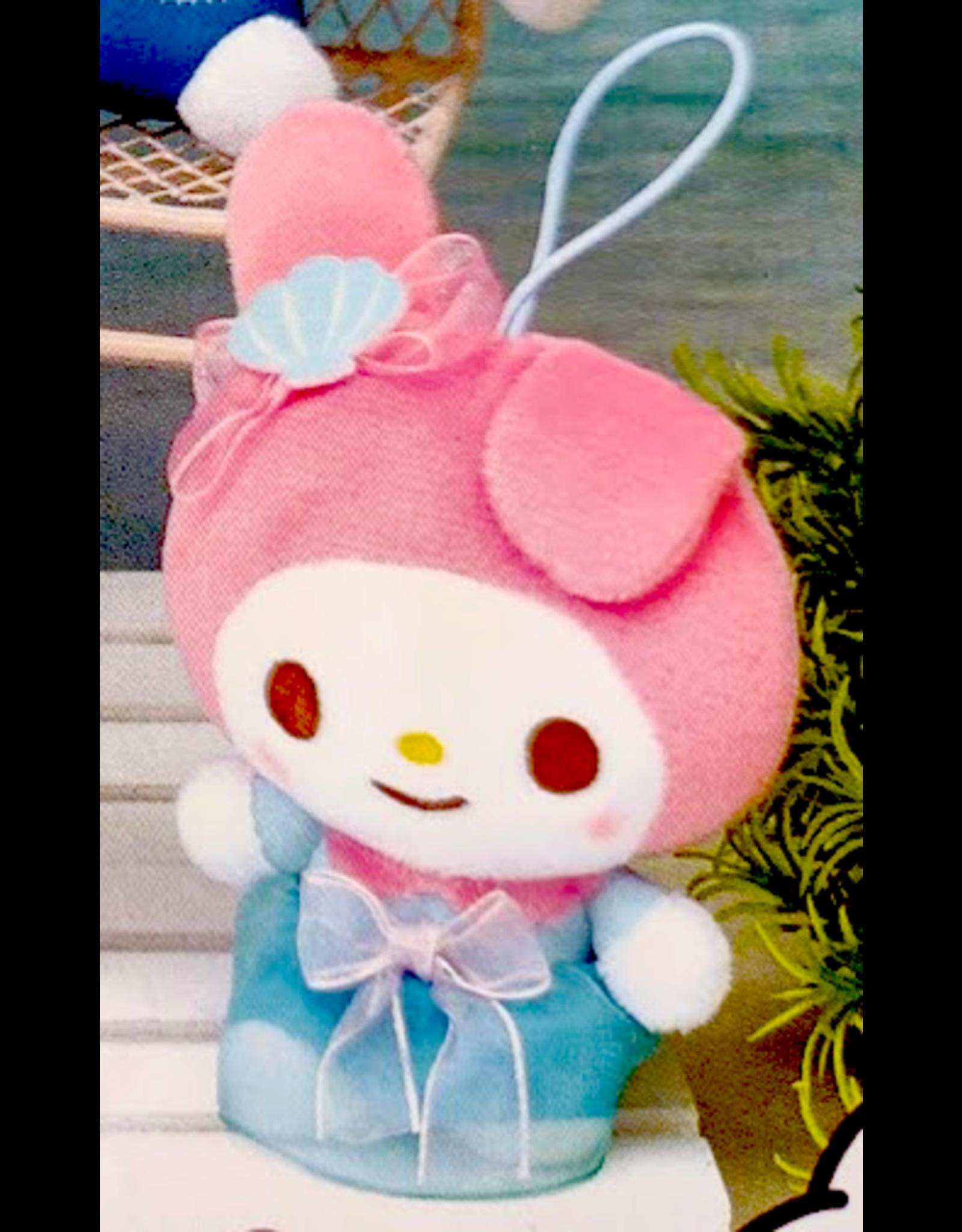 Sanrio Yurukawa Characters Series Mermaid Dress Mascot - My Melody - 10 cm