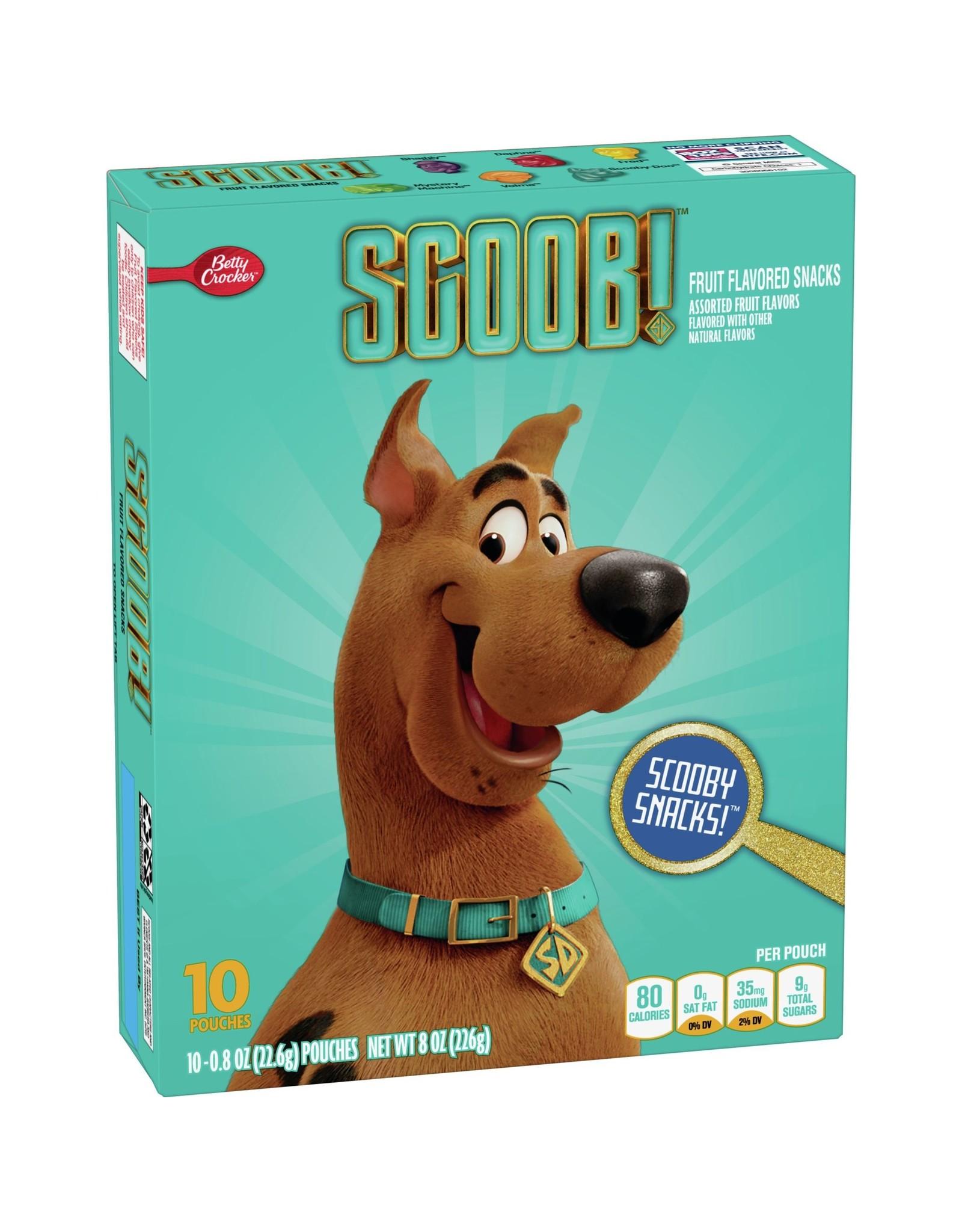 Betty Crocker Fruit Flavored Snacks - Scooby Snacks - 226g