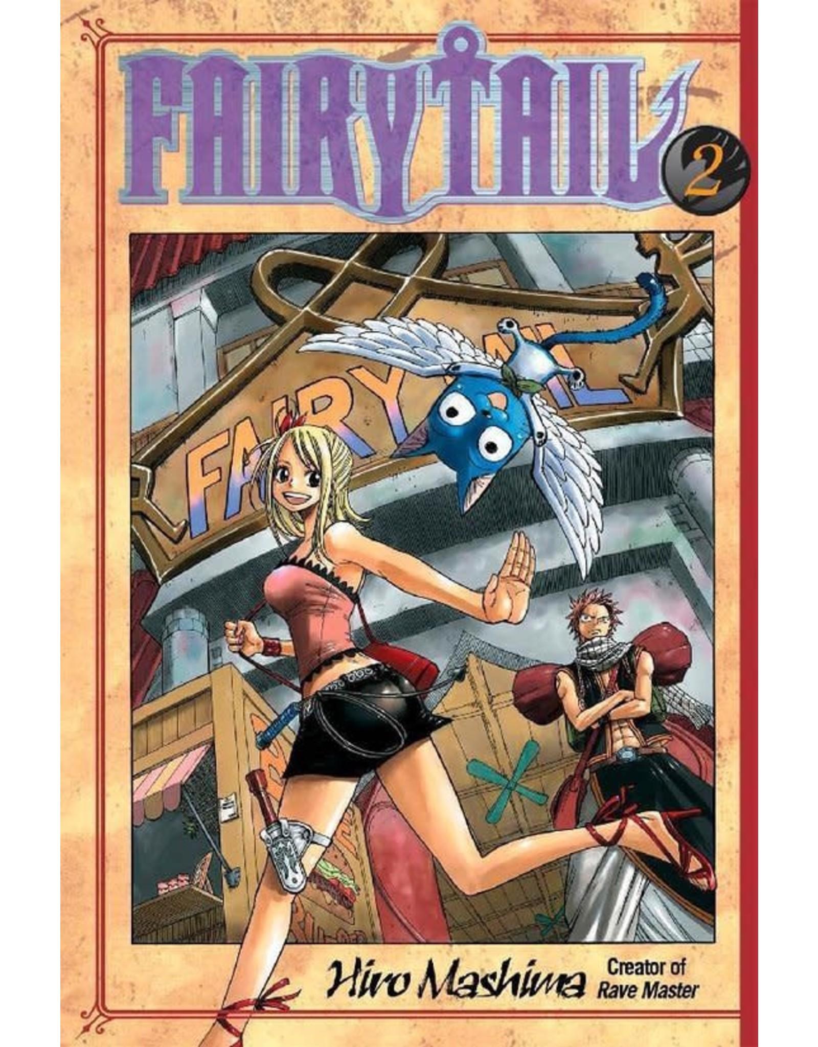 Fairy Tail 02 (Engelstalig) - Manga