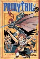 Fairy Tail 08 (Engelstalig) - Manga