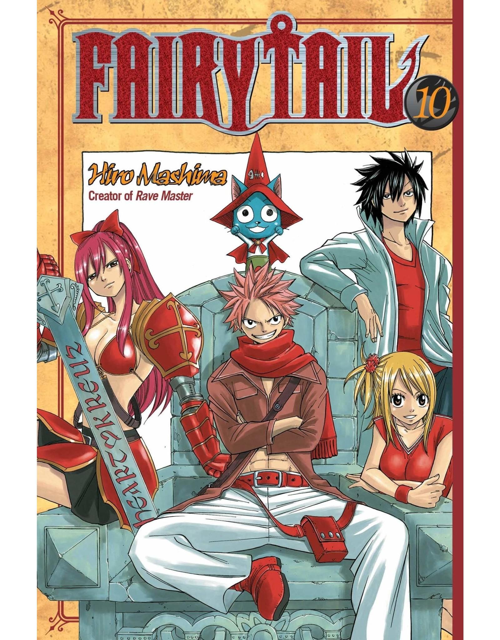 Fairy Tail 10 (Engelstalig) - Manga