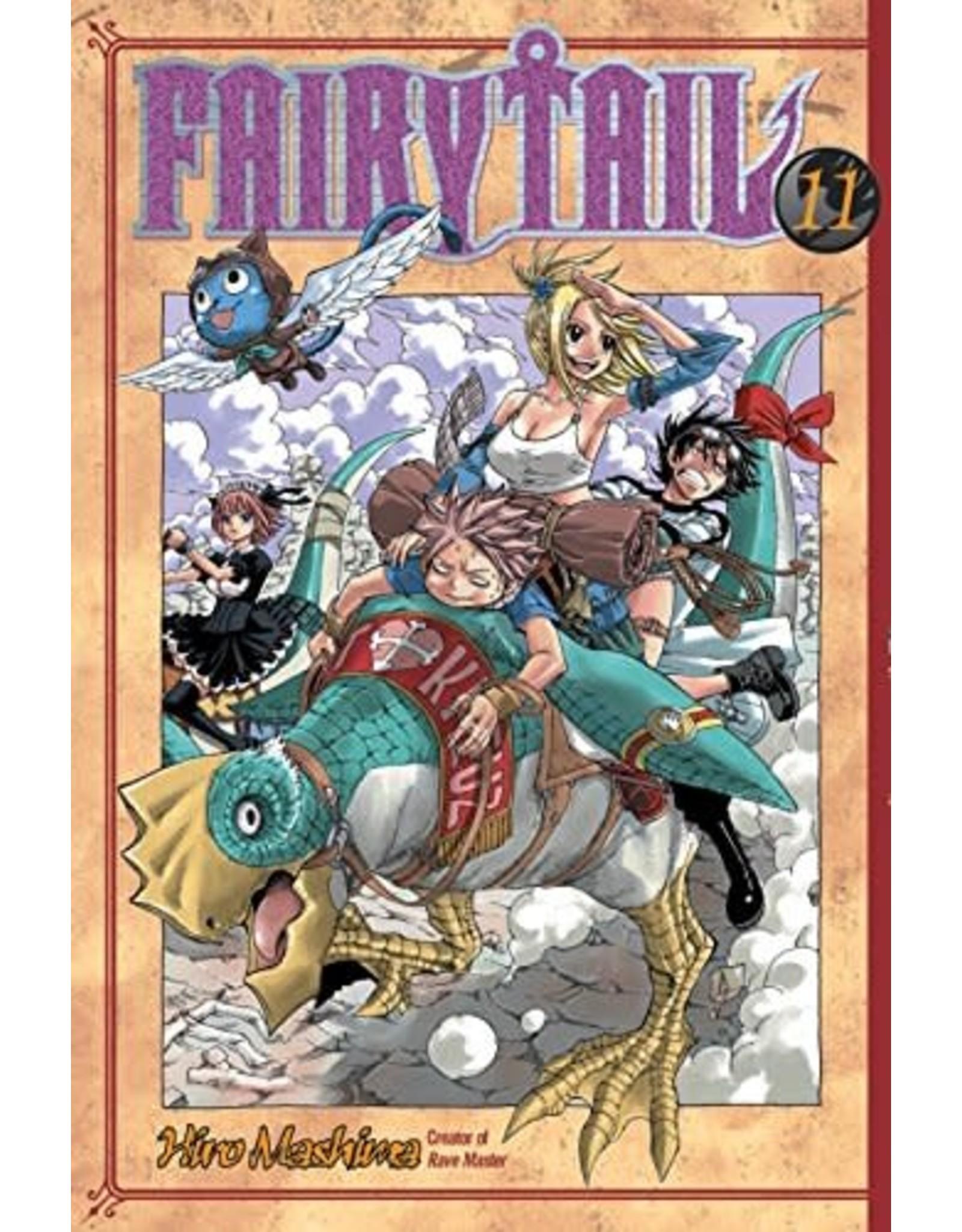 Fairy Tail 11 (Engelstalig) - Manga