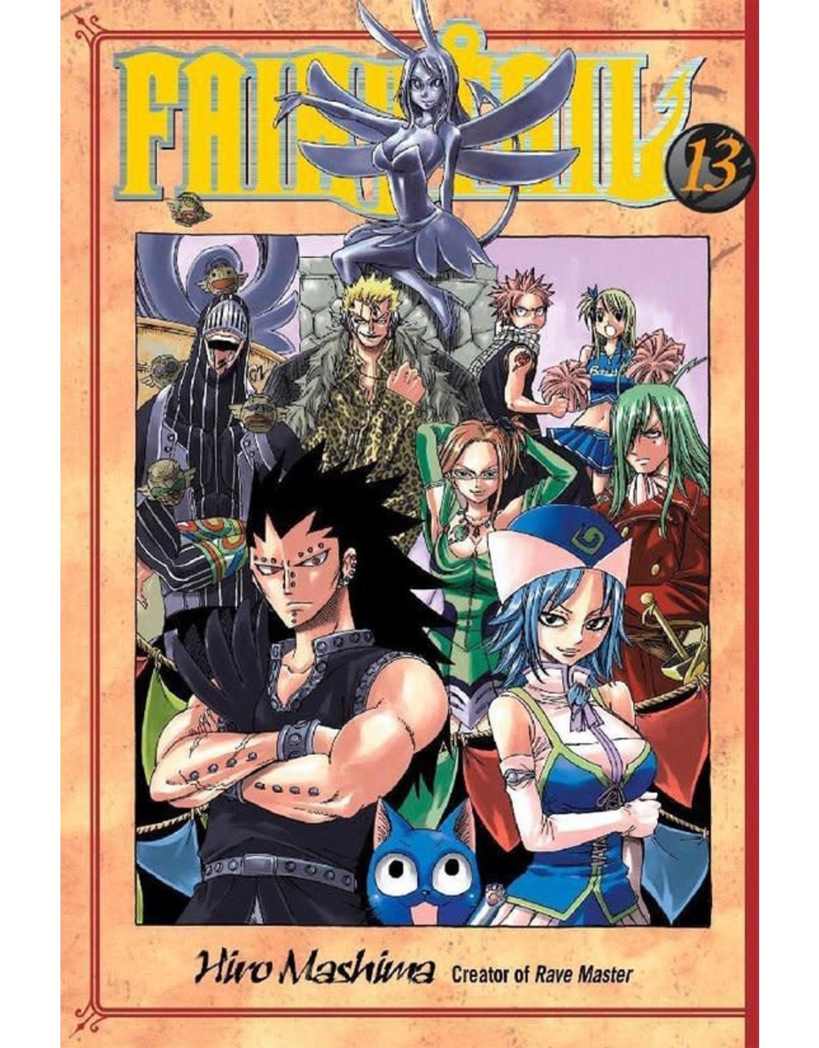 Fairy Tail 13 (Engelstalig) - Manga