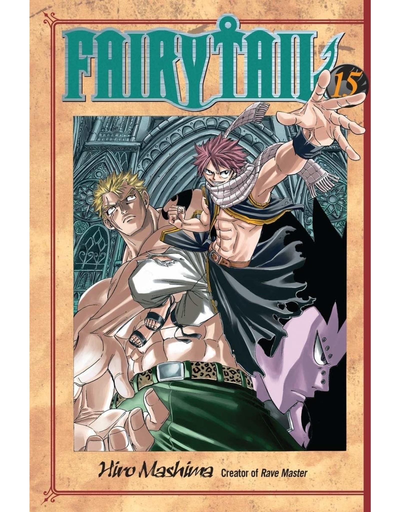 Fairy Tail 15 (Engelstalig) - Manga
