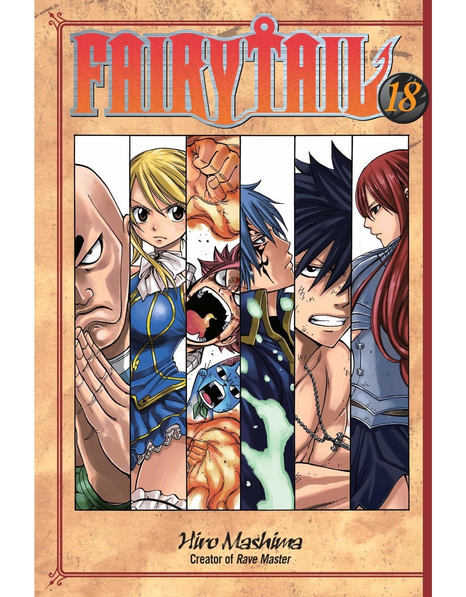 Fairy Tail 18 (Engelstalig) - Manga