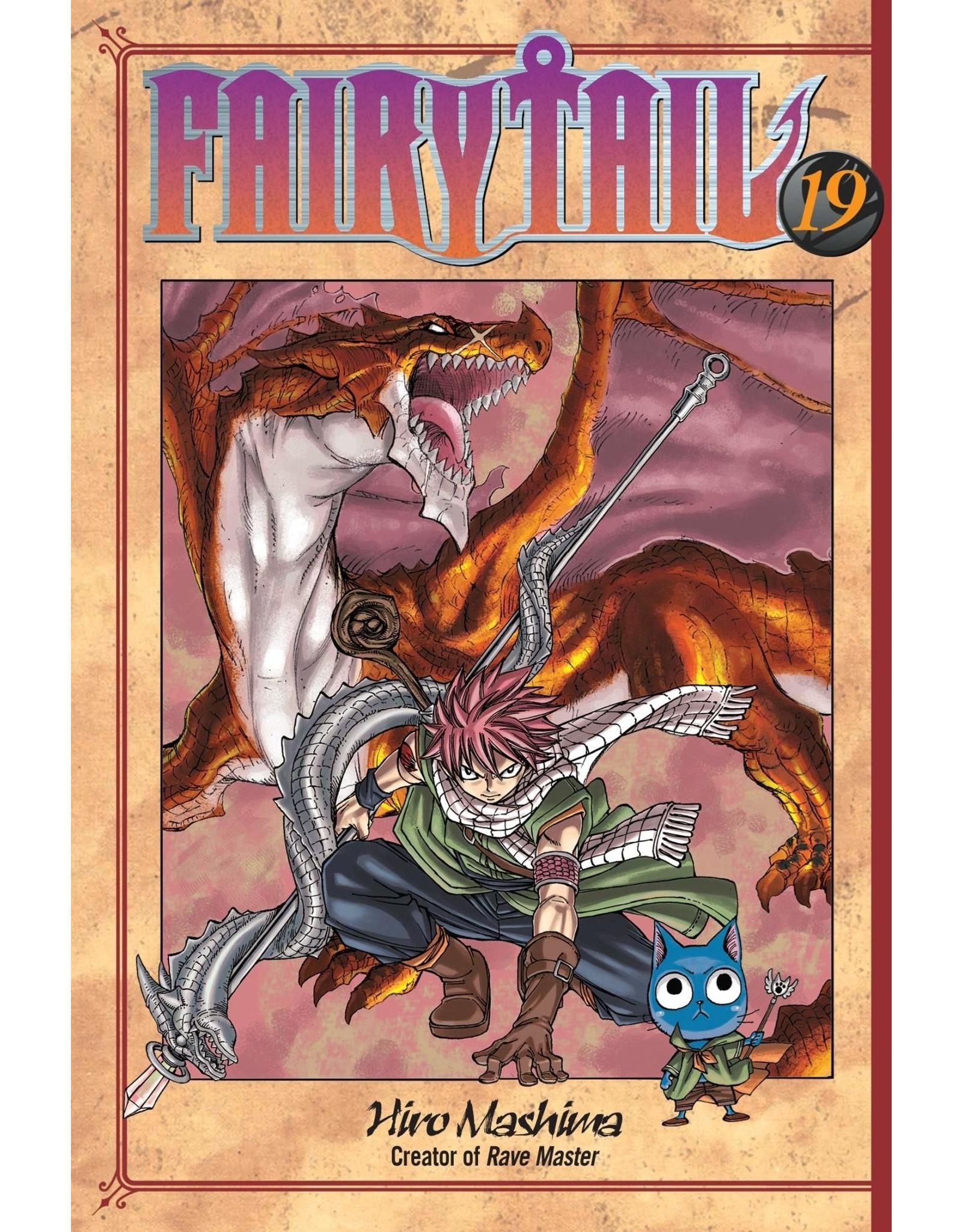 Fairy Tail 19 (Engelstalig) - Manga