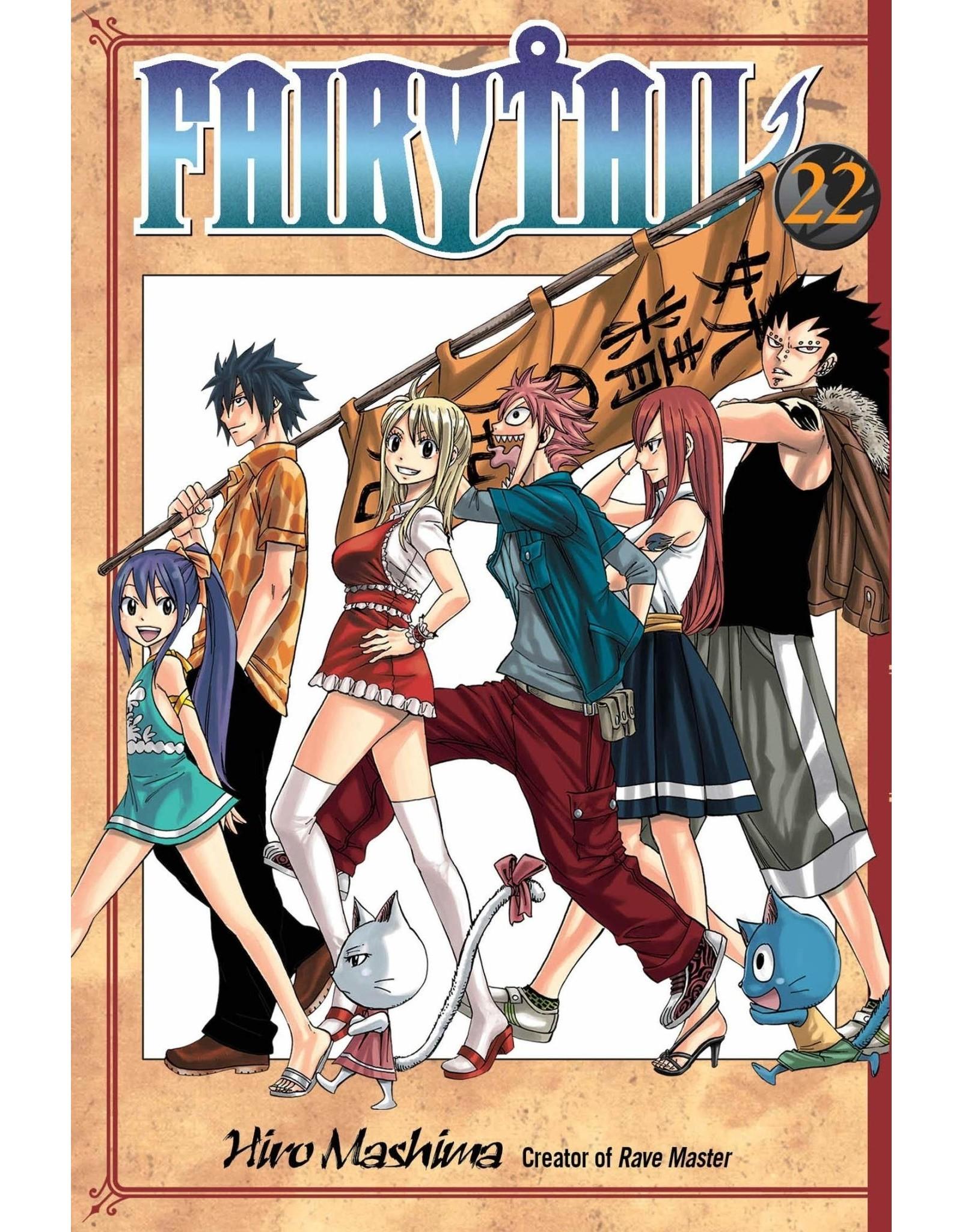 Fairy Tail 22 (Engelstalig) - Manga