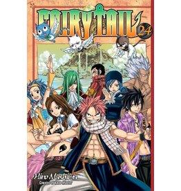 Fairy Tail 24 (Engelstalig) - Manga