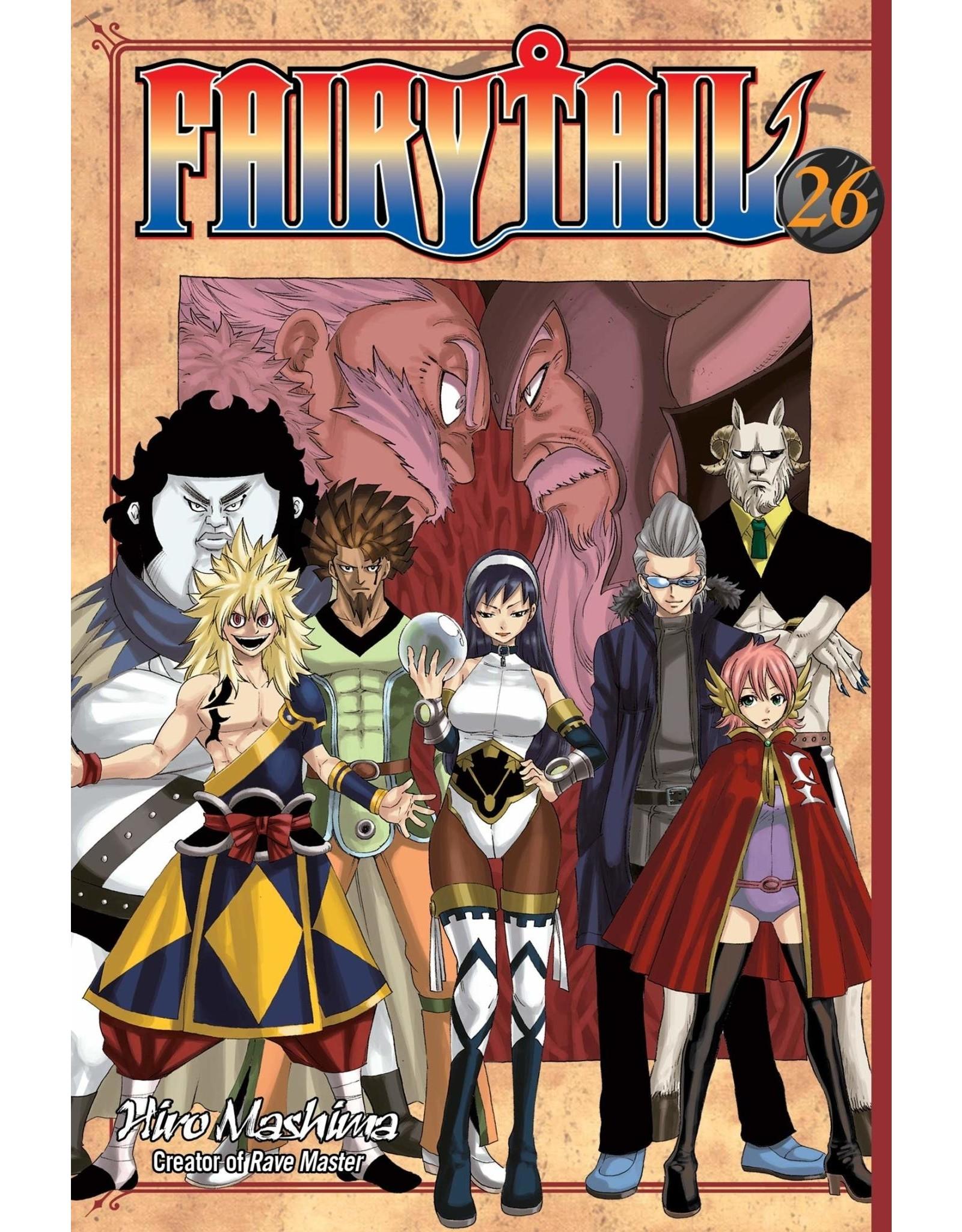 Fairy Tail 26 (Engelstalig) - Manga