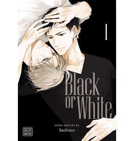 Black or White 01 (Engelstalig) - Manga