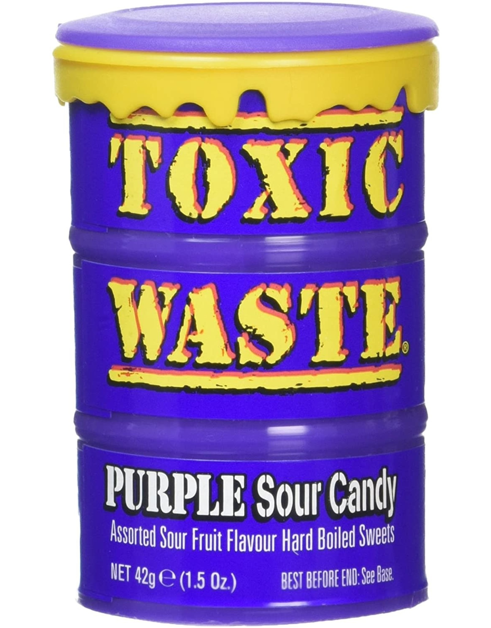 Toxic Waste - Purple Sour Candy Drum - 42g