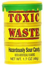 Toxic Waste - Yellow Sour Candy Drum - 42g