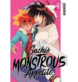 Sachi's Monstrous Appetite 4 (English) - Manga