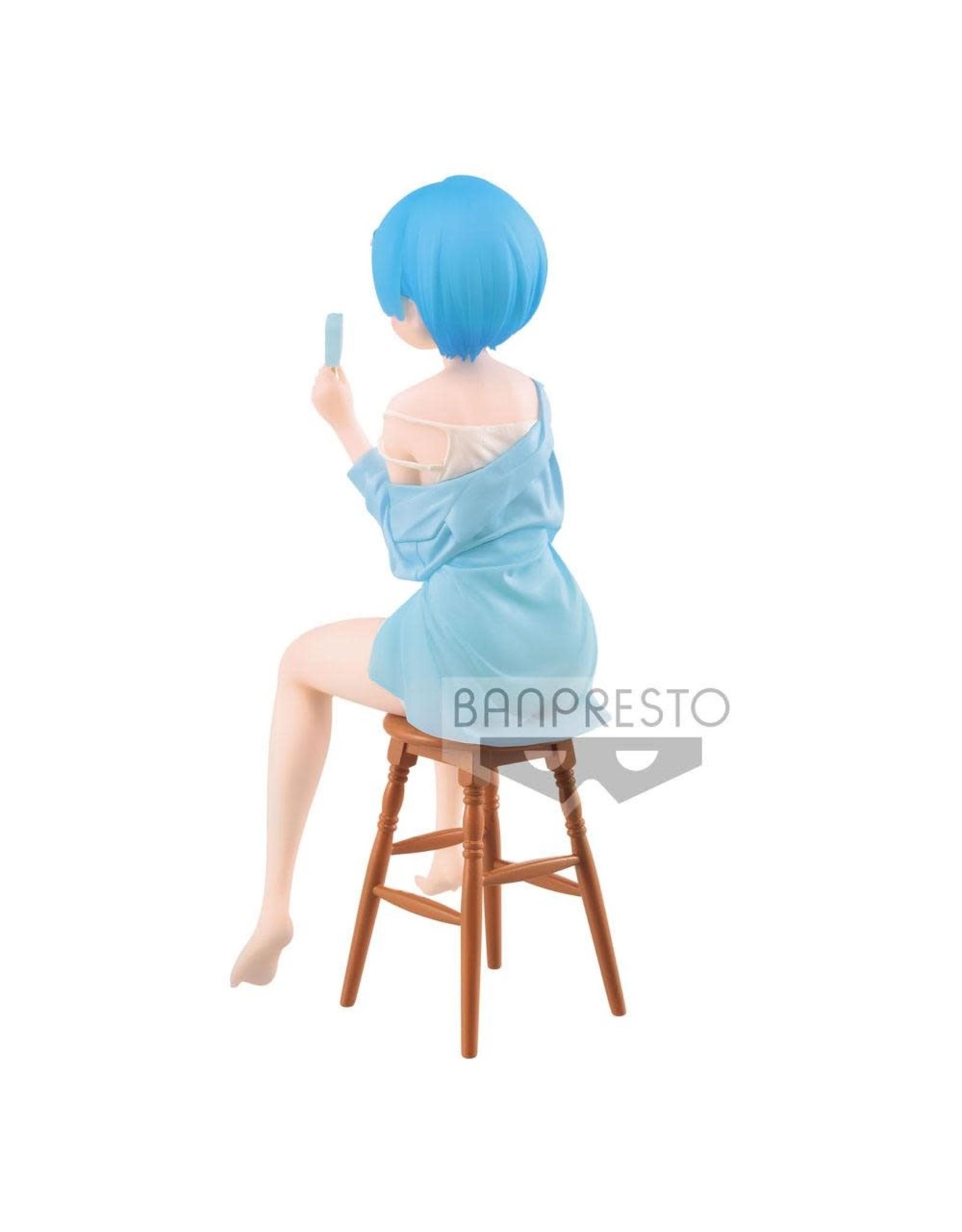 Re: Zero - Rem - Relax Time ICE POP Version - PVC Statue - 20 cm