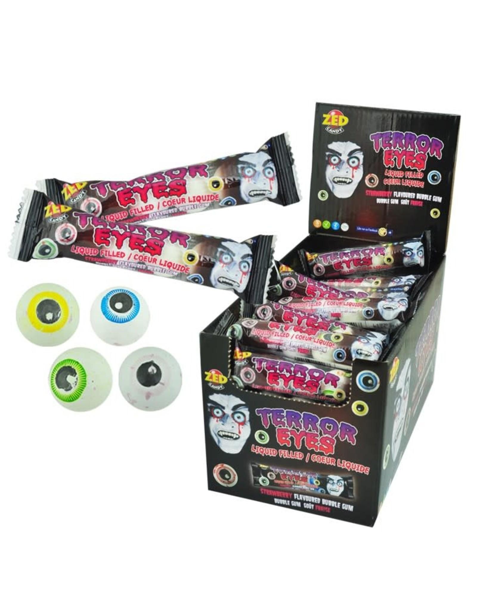 Zed Terror Eyes Gumball - 4-strip - 27g