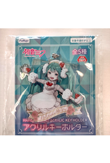 Hatsune Miku - Acrylic Key Holder - 7 cm - Strawberry Shortcake