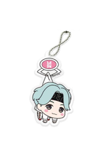 TinyTan - Official UFO Tsumamare Extra Acrylic BTS Keychain - Suga - 10cm