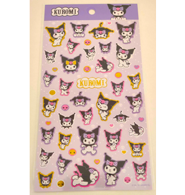Sanrio Sticker Sheet - Kuromi