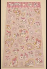 Sanrio Sticker Sheet - My Melody