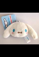 Sanrio Characters - Plush Face Mascot Keychain - Cinnamoroll - 5 cm